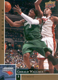 2009-10 Upper Deck First Edition Gold #14 Gerald Wallace