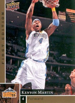 2009-10 Upper Deck First Edition Gold #37 Kenyon Martin