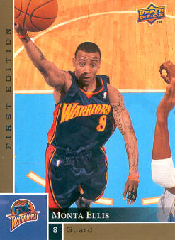 2009-10 Upper Deck First Edition Gold #46 Monta Ellis