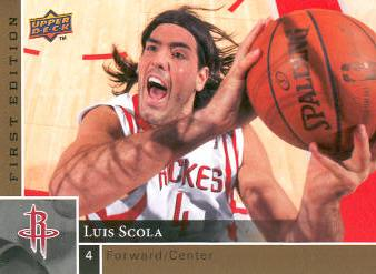 2009-10 Upper Deck First Edition Gold #52 Luis Scola