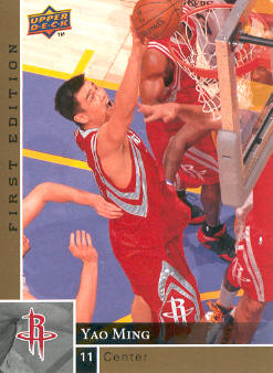 2009-10 Upper Deck First Edition Gold #54 Yao Ming