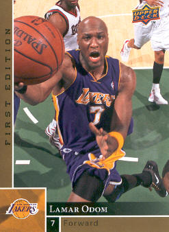 2009-10 Upper Deck First Edition Gold #71 Lamar Odom