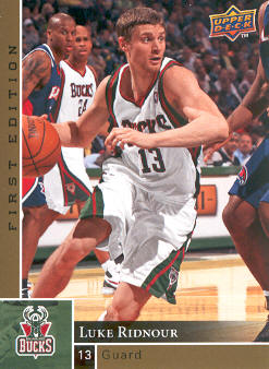 2009-10 Upper Deck First Edition Gold #89 Luke Ridnour
