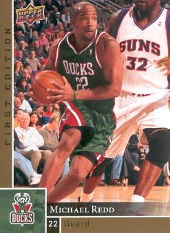 2009-10 Upper Deck First Edition Gold #90 Michael Redd