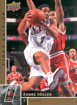 2009-10 Upper Deck First Edition Gold #131 Andre Miller