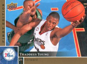 2009-10 Upper Deck First Edition Gold #133 Thaddeus Young