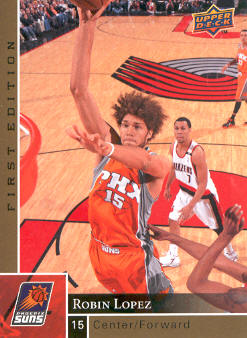 2009-10 Upper Deck First Edition Gold #142 Robin Lopez