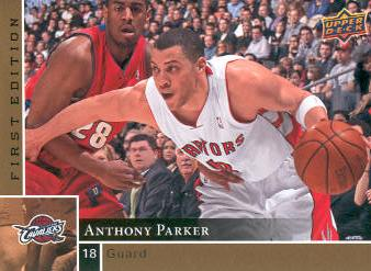 2009-10 Upper Deck First Edition Gold #162 Anthony Parker