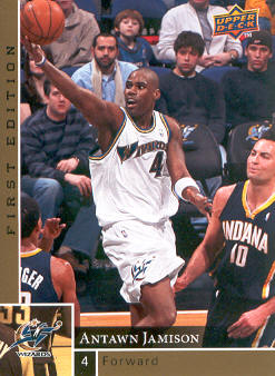 2009-10 Upper Deck First Edition Gold #171 Antawn Jamison