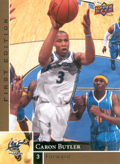 2009-10 Upper Deck First Edition Gold #173 Caron Butler