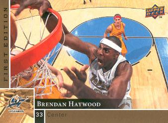 2009-10 Upper Deck First Edition Gold #174 Brendan Haywood