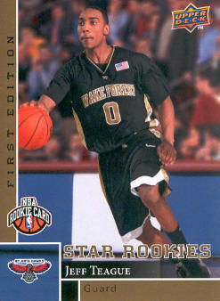 2009-10 Upper Deck First Edition Gold #189 Jeff Teague