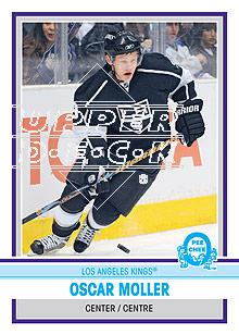 2009-10 O-Pee-Chee Retro #180 Oscar Moller