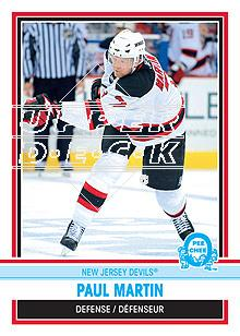 2009-10 O-Pee-Chee Retro #182 Paul Martin