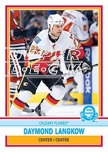 2009-10 O-Pee-Chee Retro #192 Daymond Langkow