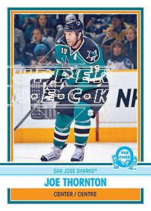 2009-10 O-Pee-Chee Retro #260 Joe Thornton