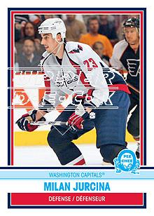 2009-10 O-Pee-Chee Retro #303 Milan Jurcina
