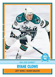 2009-10 O-Pee-Chee Retro #438 Ryane Clowe