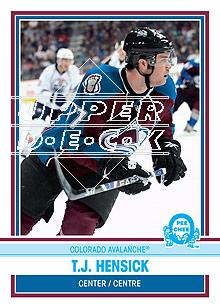 2009-10 O-Pee-Chee Retro #486 T.J. Hensick