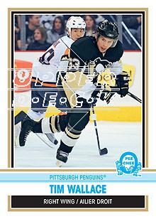 2009-10 O-Pee-Chee Retro #505 Tim Wallace