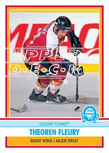 2009-10 O-Pee-Chee Retro #585 Theoren Fleury L