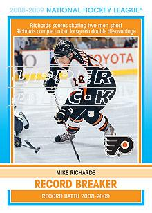 2009-10 O-Pee-Chee Record Breakers #RB10 Mike Richards