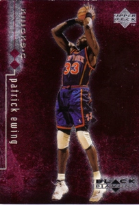 1998-99 Black Diamond Double Diamond #61 Patrick Ewing
