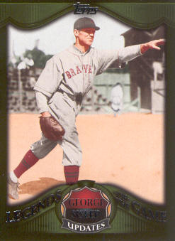2009 Topps Legends of the Game #LGU07 George Sisler front image
