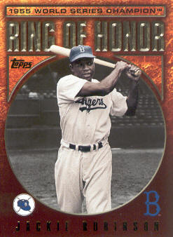 2009 Topps Ring Of Honor #RH77 Jackie Robinson