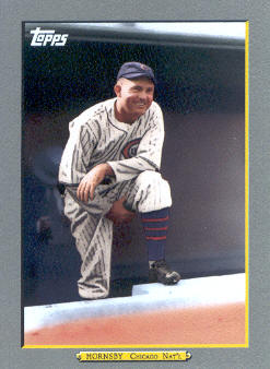 2009 Topps Turkey Red #TR133 Rogers Hornsby