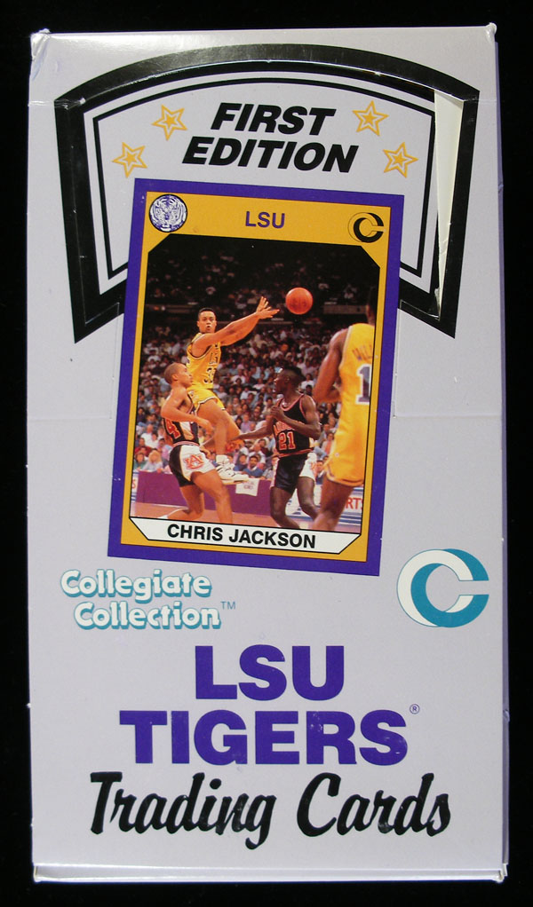 1990 LSU Collegiate Collection Basketball Unopened Box (36 Packs)