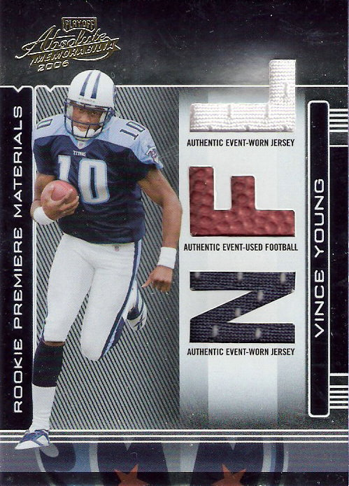 2006 Absolute Memorabilia #258 Vince Young RPM RC