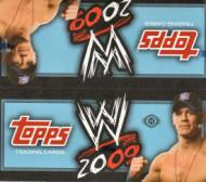 2 PACK LOT : 2009 Topps WWE Wrestling Factory Sealed Hobby Pack (Random Autographs & Event Used Memorabilia Cards)