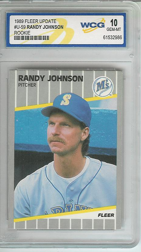 1989 Fleer Update #59 Randy Johnson