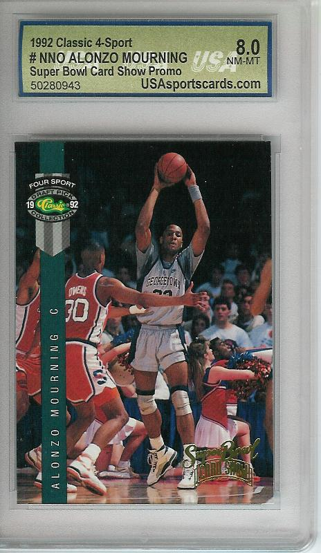 1992 Classic Show Promos 20 #12 Alonzo Mourning/(July 1992 Atlanta National)