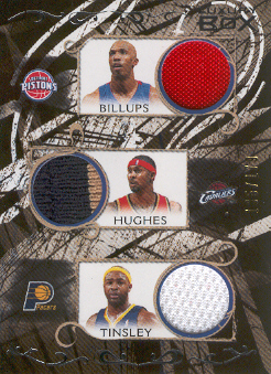 2006-07 Topps Luxury Box Relics Five #2 Chauncey Billups/Larry Hughes/Jamaal Tinsley/Chris Duhon/Michael Redd