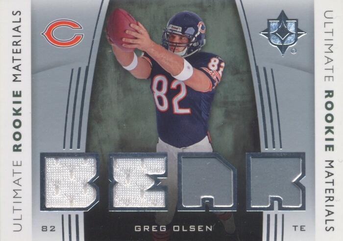 2007 Ultimate Collection Rookie Materials Silver #URMGO Greg Olsen
