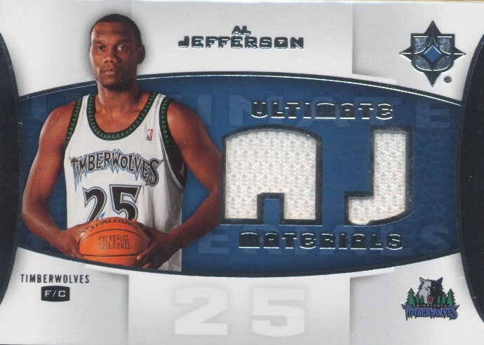 2007-08 Ultimate Collection Materials #AL Al Jefferson