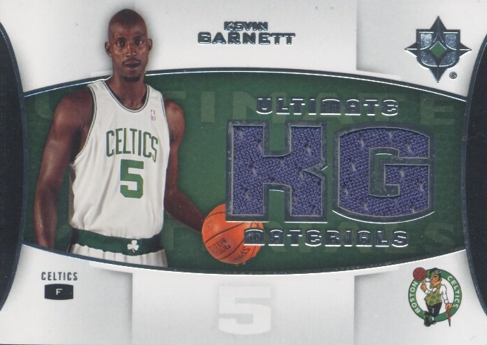 2007-08 Ultimate Collection Materials #KG Kevin Garnett