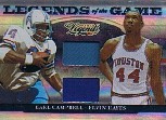 2008 Donruss Sports Legends Legends of the Game Combos #8 Earl Campbell Jsyll/Elvin Hayes Jsy