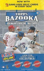 2004 Topps Bazooka MLB Baseball Sports Trading Cards Hobby box