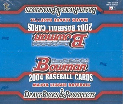 2004 Bowman Draft Picks & Prospects MLB Baseball Sports Trading Cards Retail box