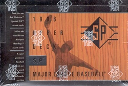 1996 Upper Deck SP MLB Baseball Sports Trading Cards Hobby Box