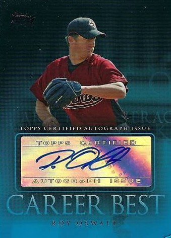 2009 Topps Career Best Autographs #RO Roy Oswalt UPD