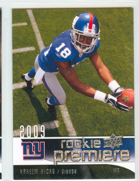 2009 Upper Deck Rookie Premiere #9 Hakeem Nicks