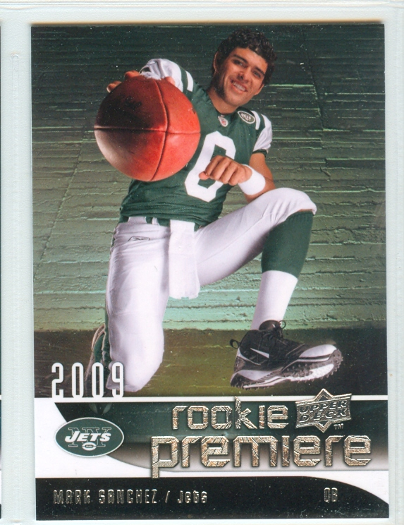 2009 Upper Deck Rookie Premiere #18 Mark Sanchez
