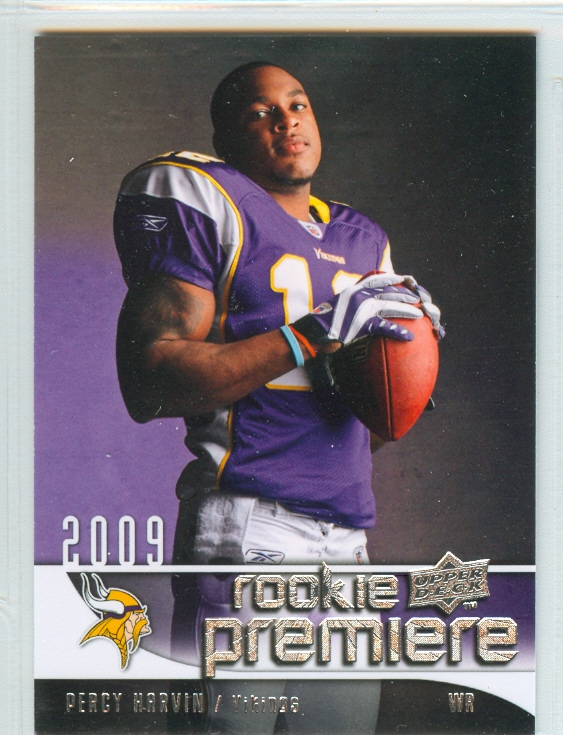 2009 Upper Deck Rookie Premiere #25 Percy Harvin