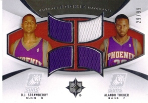 2007-08 Ultimate Collection Rookie Matchups #ST Alando Tucker/D.J. Strawberry
