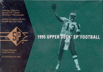 1995 Upper Deck SP NFL Football Sports Trading Cards Hobby Box