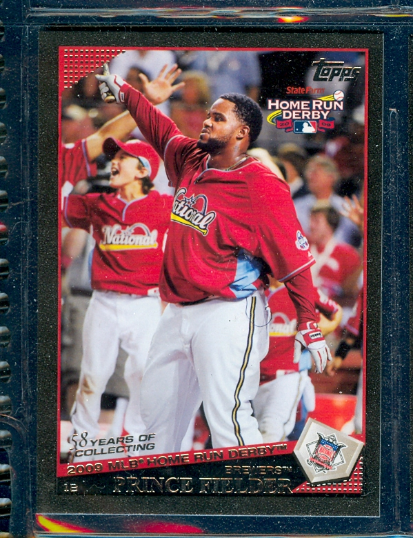 2009 Topps Update Black #UH192 Prince Fielder